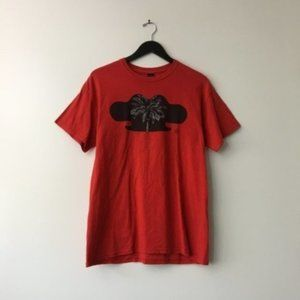 10 Deep Graphic Tee Shirt USA Red Size M Medium